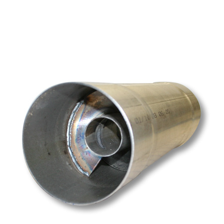 "Stainless FTE Resonator muffler 4x30/"" for 4/"" exhaust RM4430SS W//Clamps"